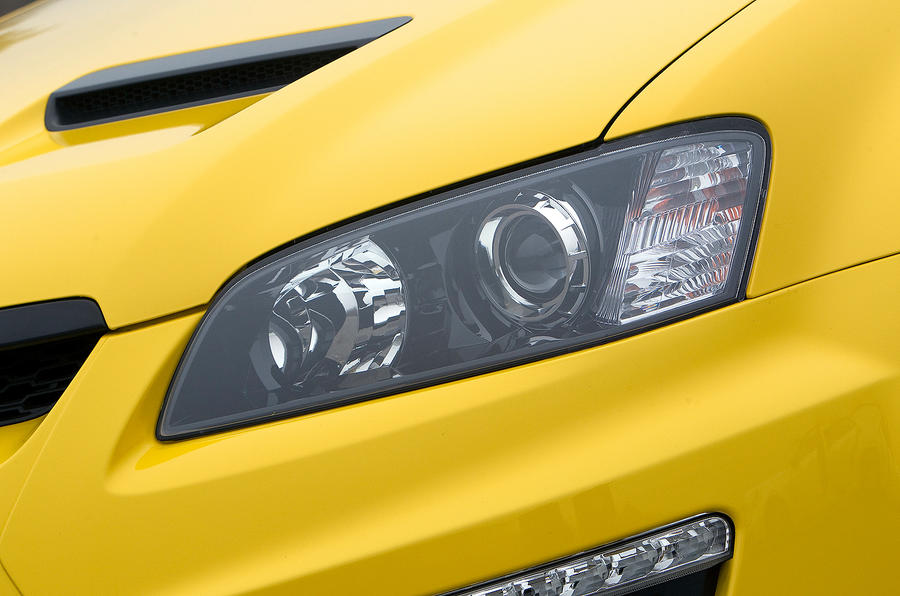 Vauxhall VXR8 Maloo headlight