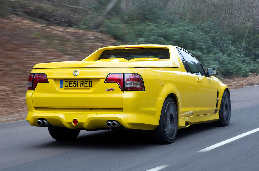 Vauxhall VXR8 Maloo rear quarter