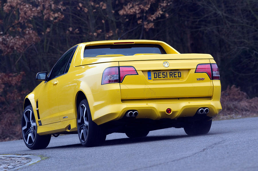 Vauxhall VXR8 Maloo rear cornering