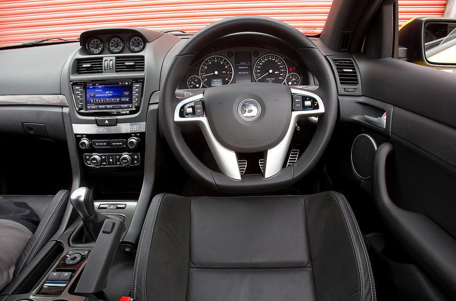 Vauxhall VXR8 Maloo dashboard