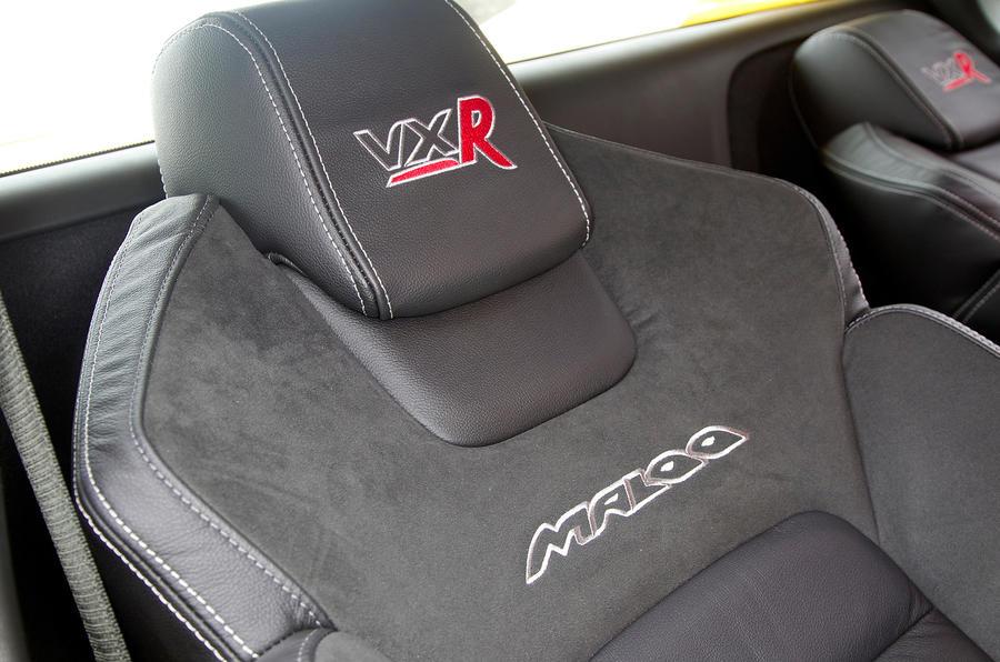 Vauxhall VXR8 Maloo Recaro seats