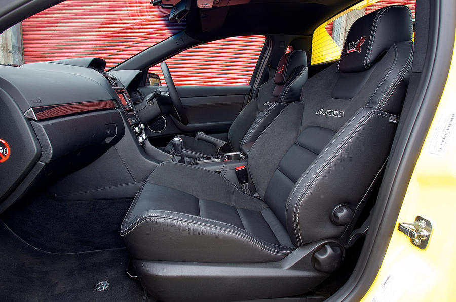 Vauxhall VXR8 Maloo interior