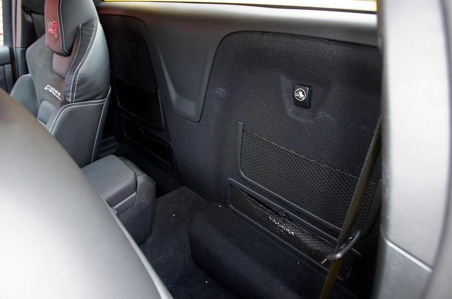 VXR8 Maloo rear seat space