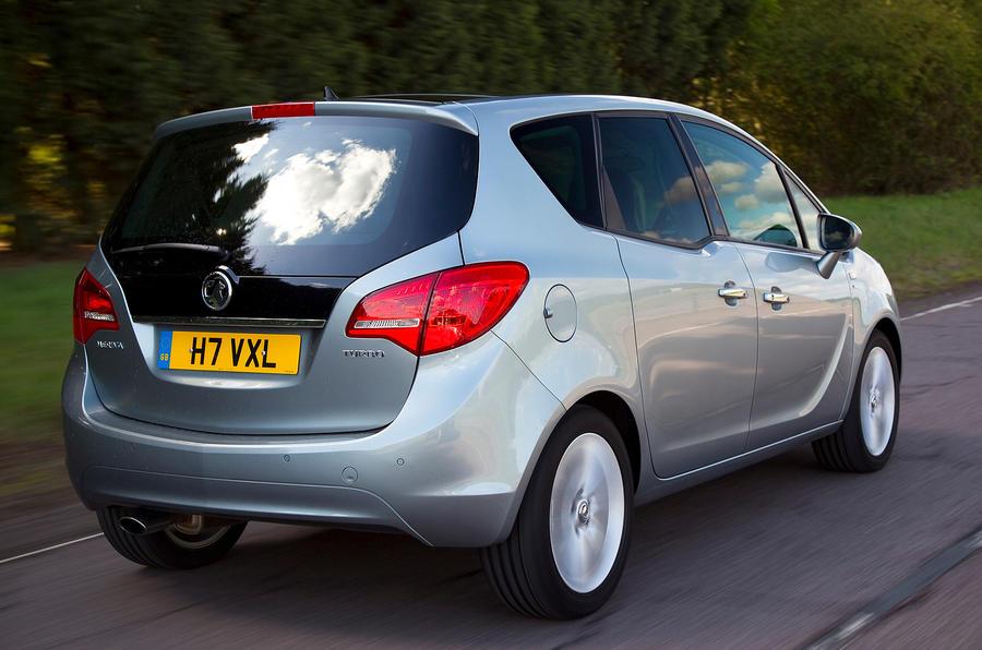 Vauxhall Meriva rear quarter