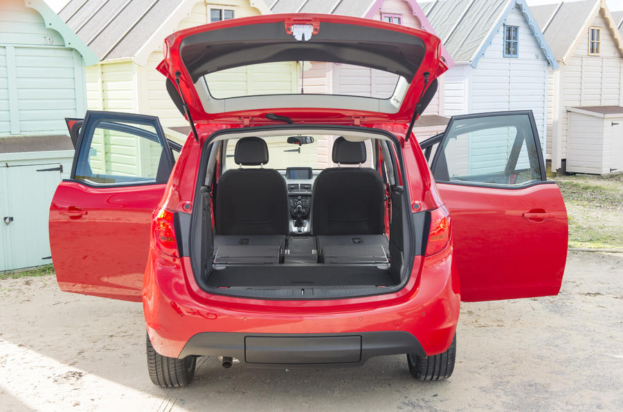 Vauxhall Meriva doors open