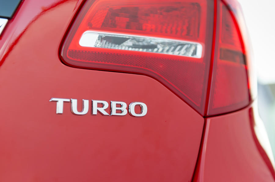 Vauxhall Meriva Turbo badging
