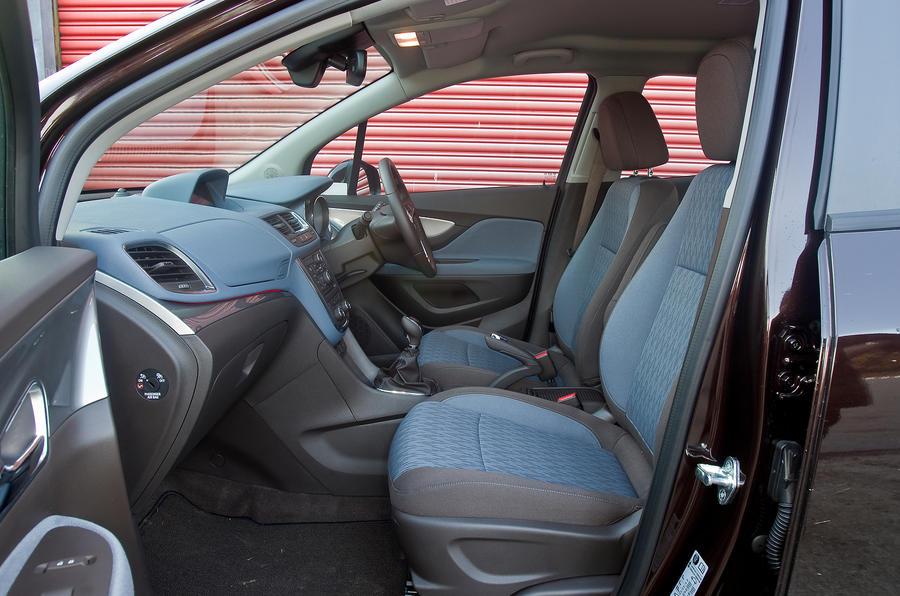 An inside look in the Vauxhall Mokka