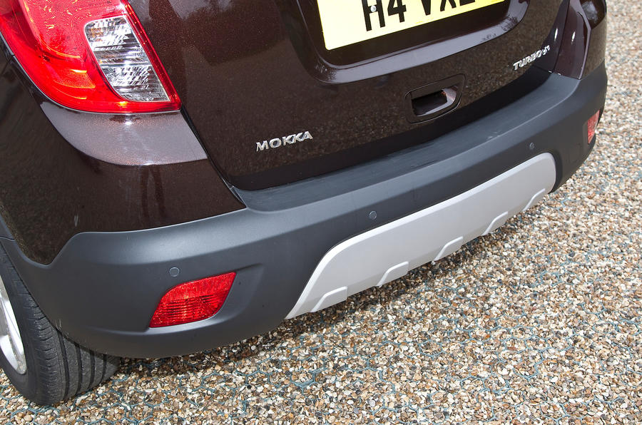 The Vauxhall Mokka is available with a Flex-Fit bike carrier