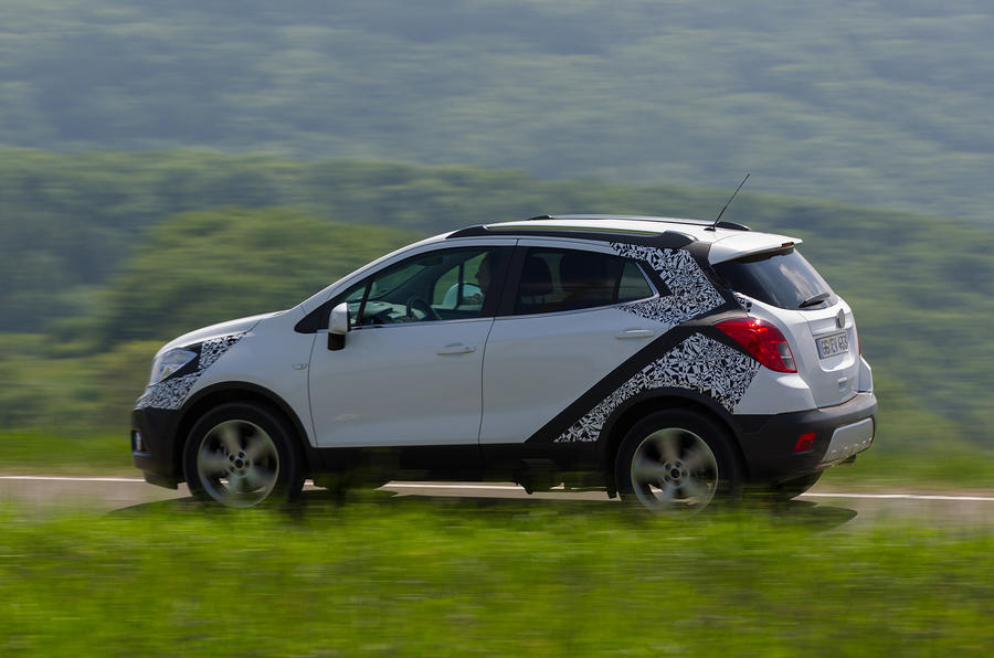 Vauxhall Mokka side profile