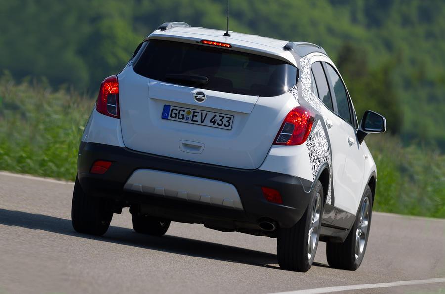 Vauxhall Mokka rear