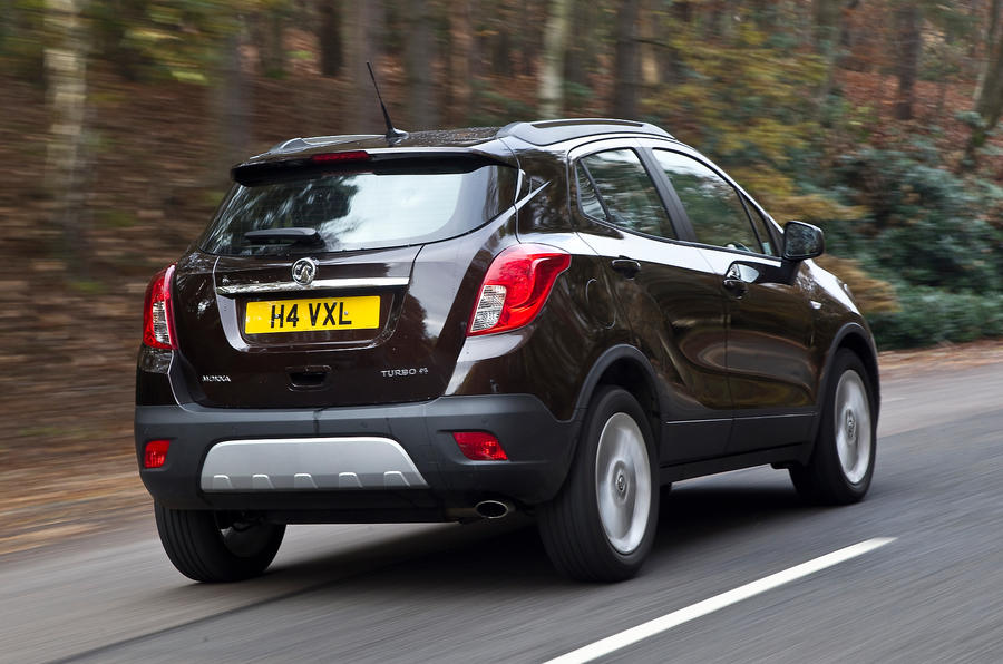 The Vauxhall Mokka 1.4T's torque is limited by its ECU