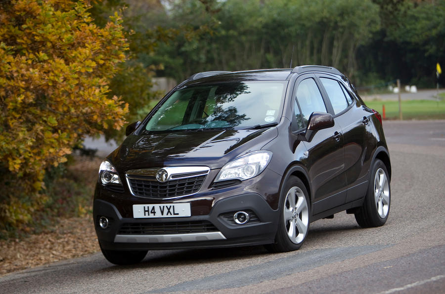 The Vauxhall Mokka's technology allows it corner on a tidy line