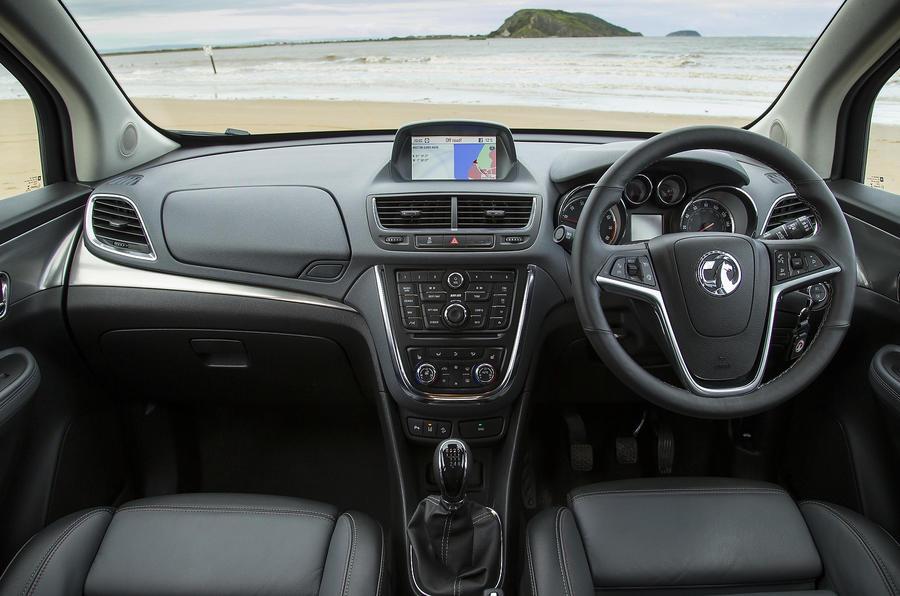 Vauxhall Mokka dashboard