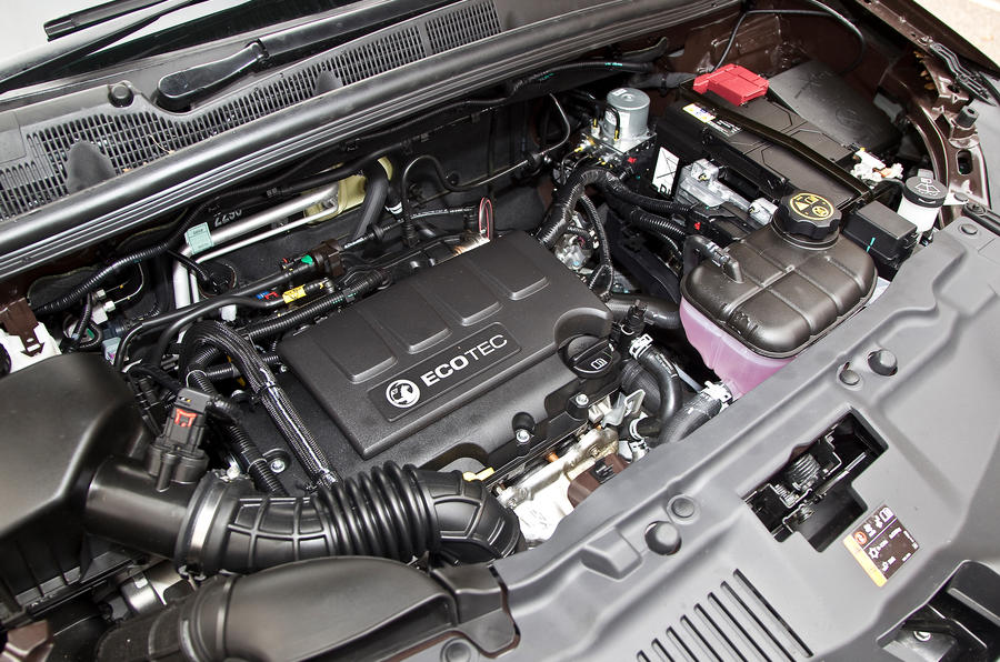 The 1.4-litre turbocharged petrol engine in the Vauxhall Mokka