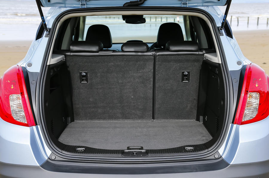 Vauxhall Mokka boot space