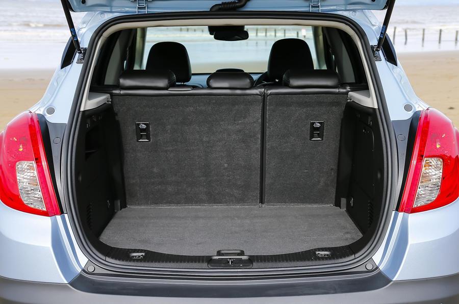 Vauxhall Mokka boot space