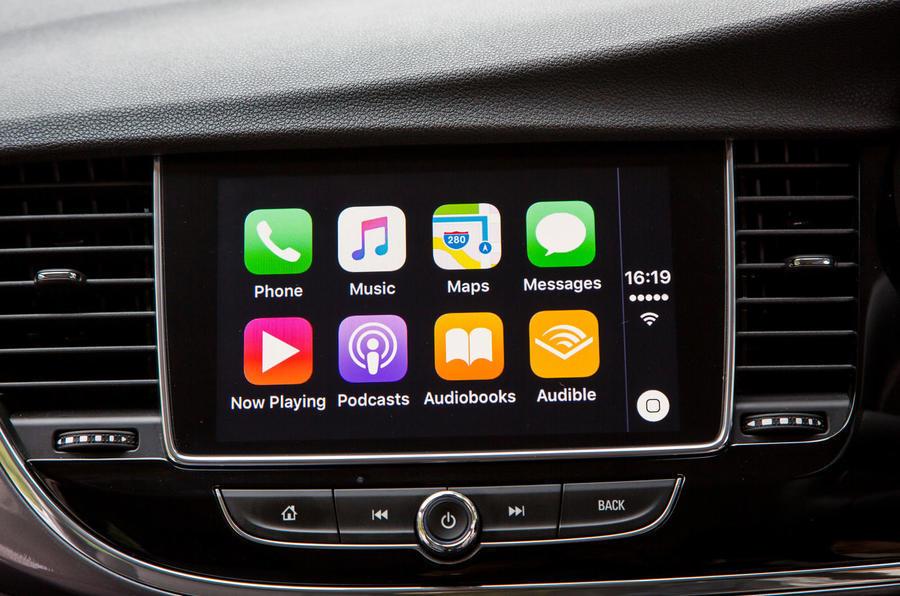 Vauxhall Mokka X Apple CarPlay