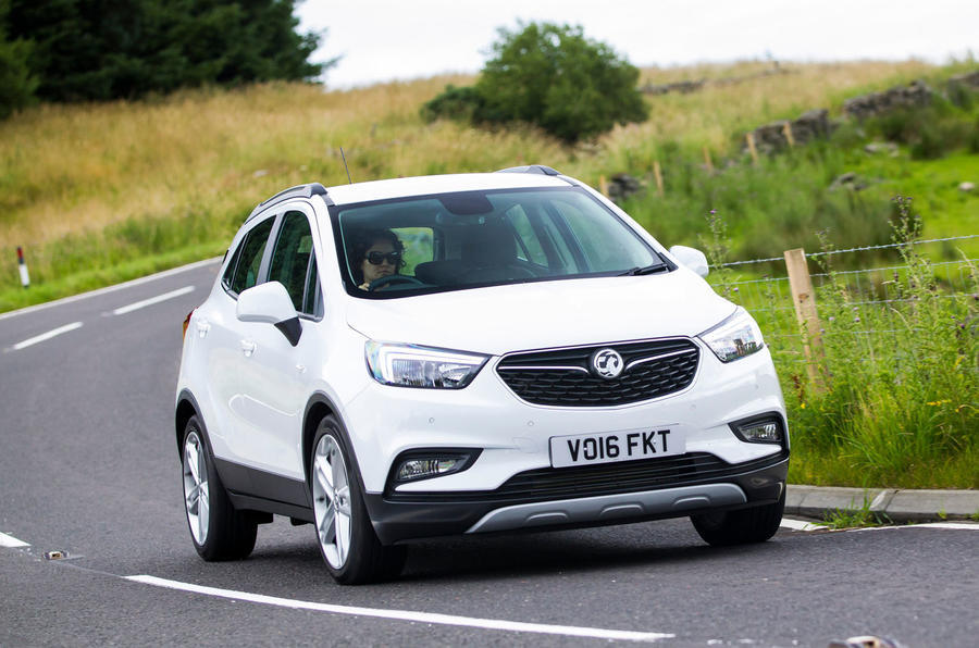 Vauxhall Mokka X cornering