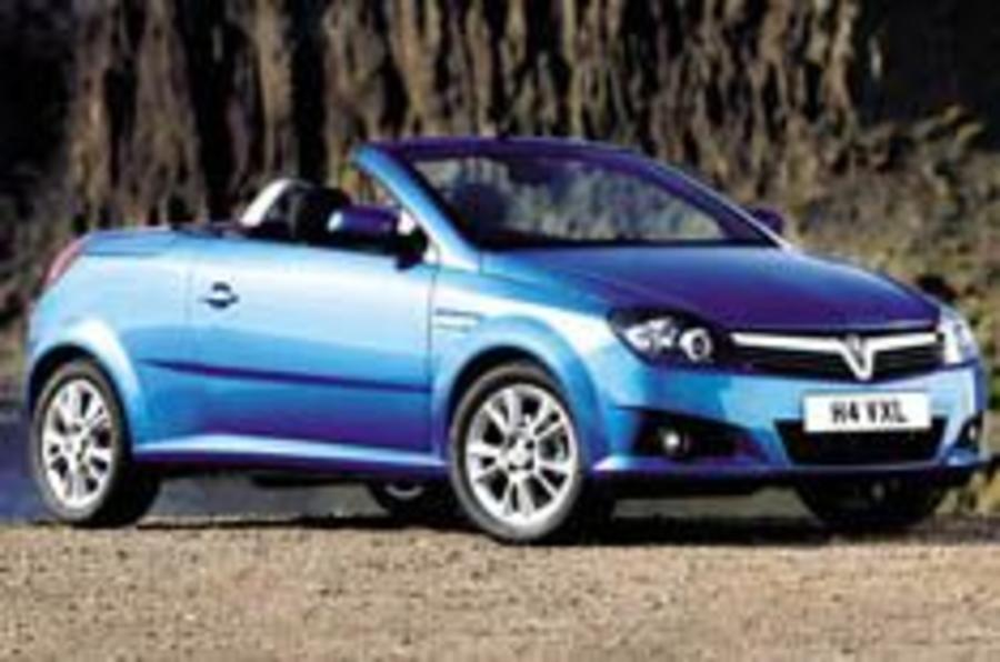 Vauxhall's all-new Tigra aims for 206 CC