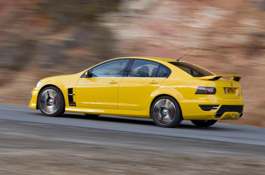 Vauxhall VXR8 rear cornering