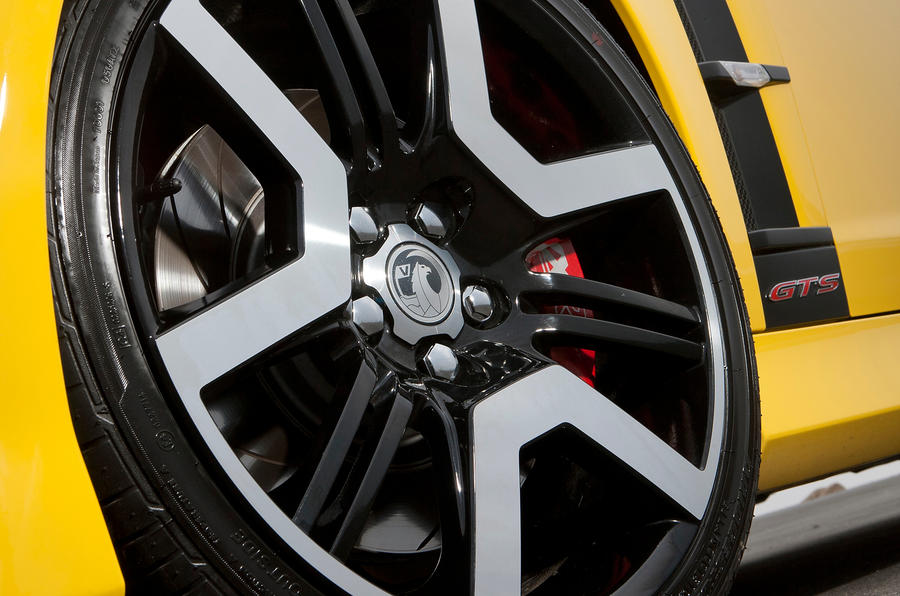 19in Vauxhall VXR8 alloy wheels