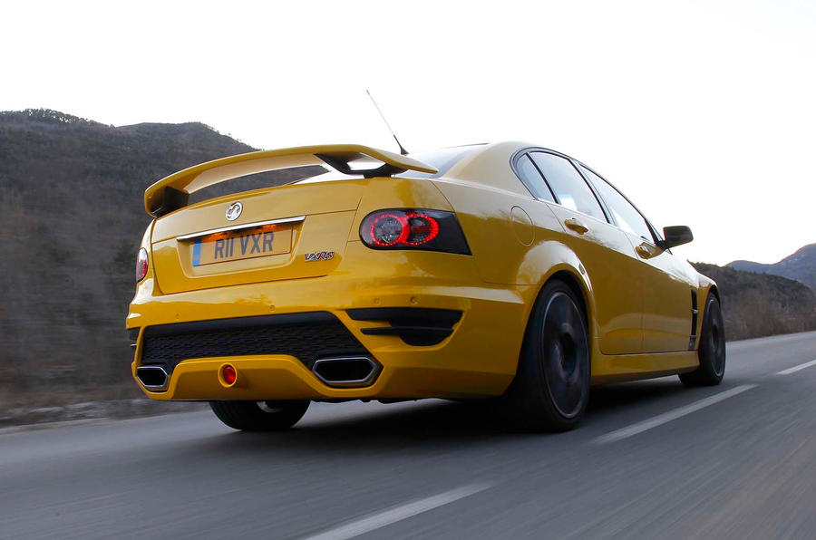 Vauxhall VXR8 rear quarter