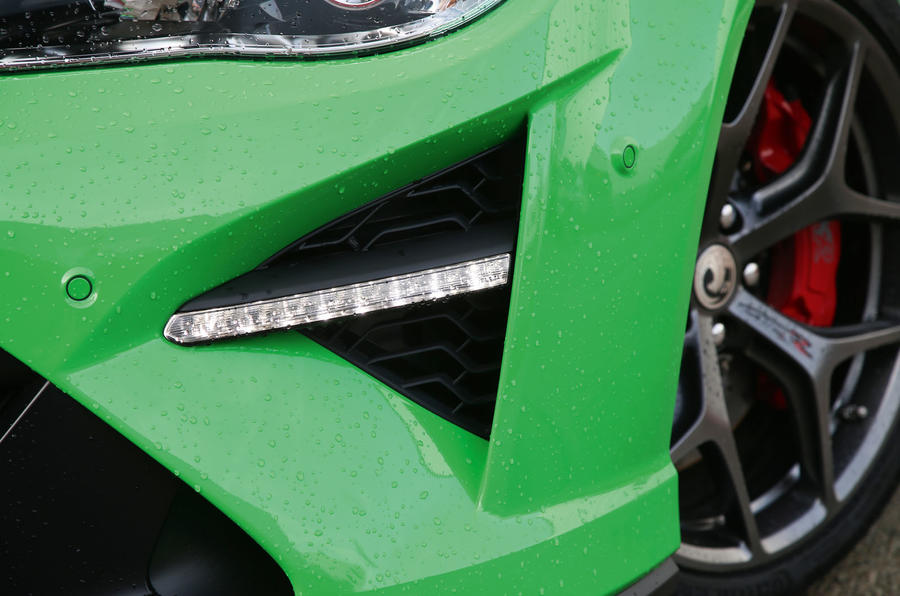 Vauxhall VXR8 GTS-R day-running-lights
