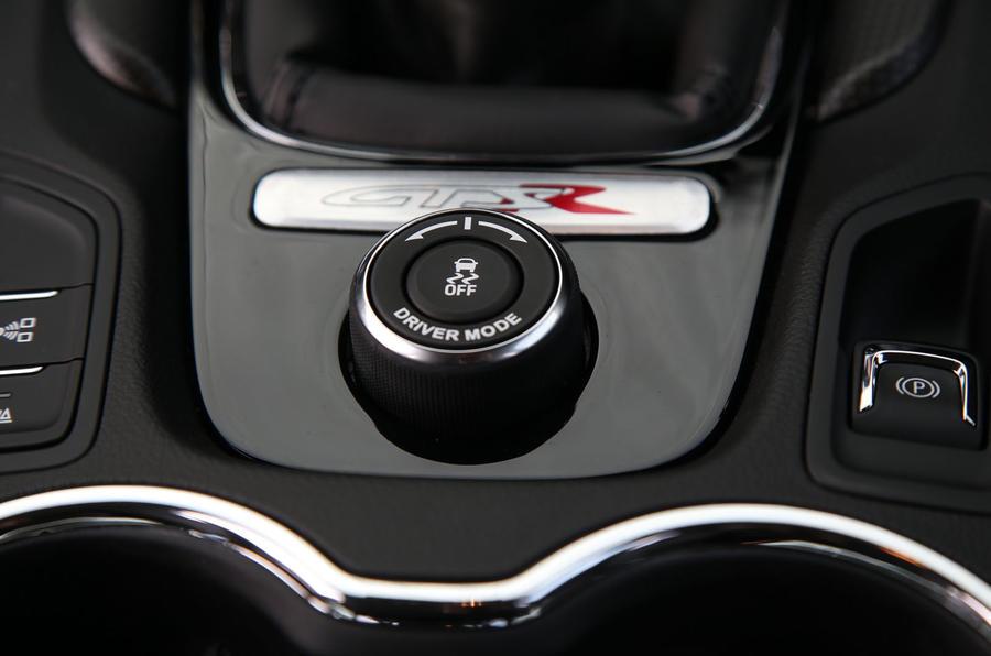 Vauxhall VXR8 GTS-R driving mode controller