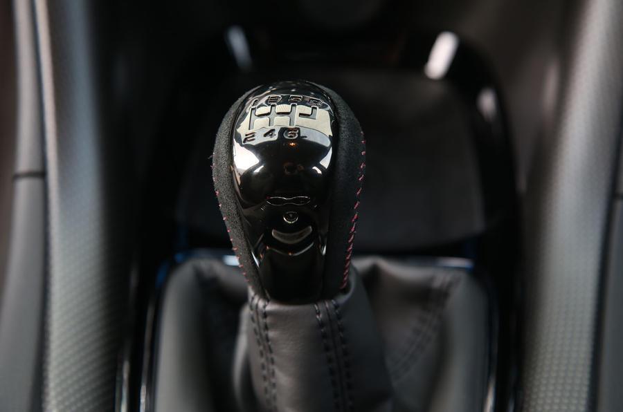 Vauxhall VXR8 GTS-R manual gearbox