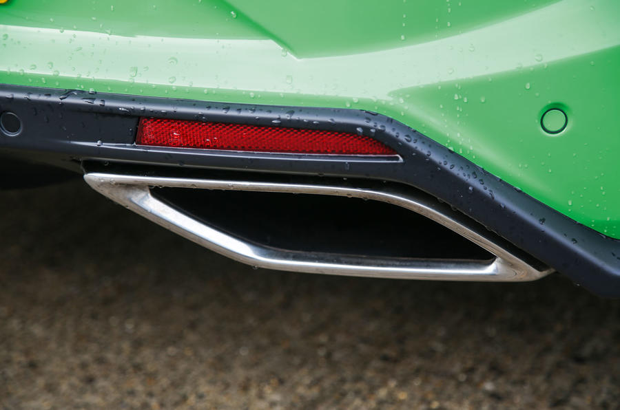 Vauxhall VXR8 GTS-R rear exhaust