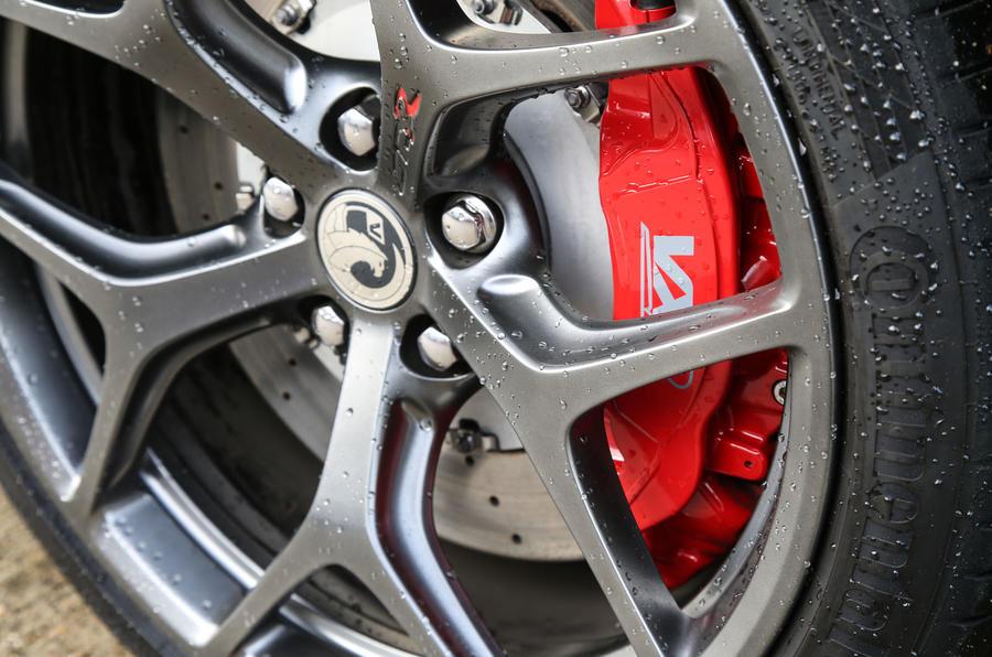 Vauxhall VXR8 GTS-R red brake calipers