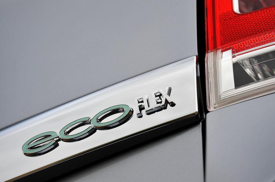 Vauxhall Zafira EcoFlex badging