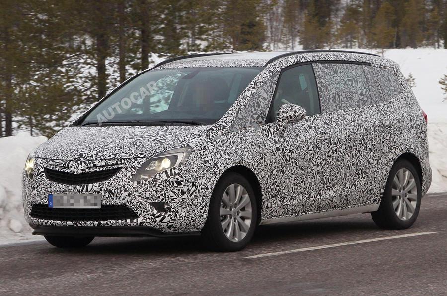 New Vauxhall Zafira uncovered