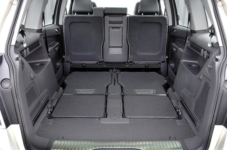 Vauxhall Zafira seat flexibility