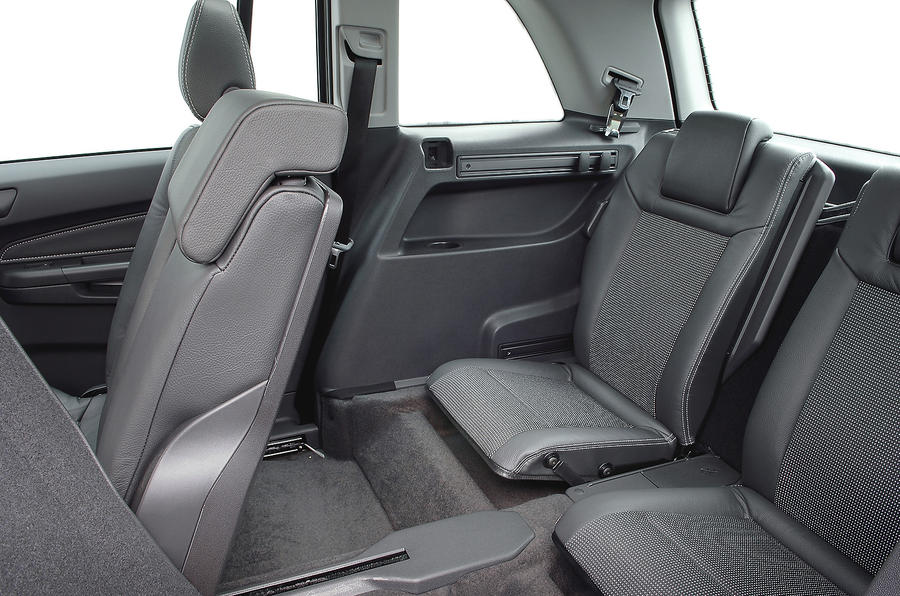 Vauxhall Zafira third row seats