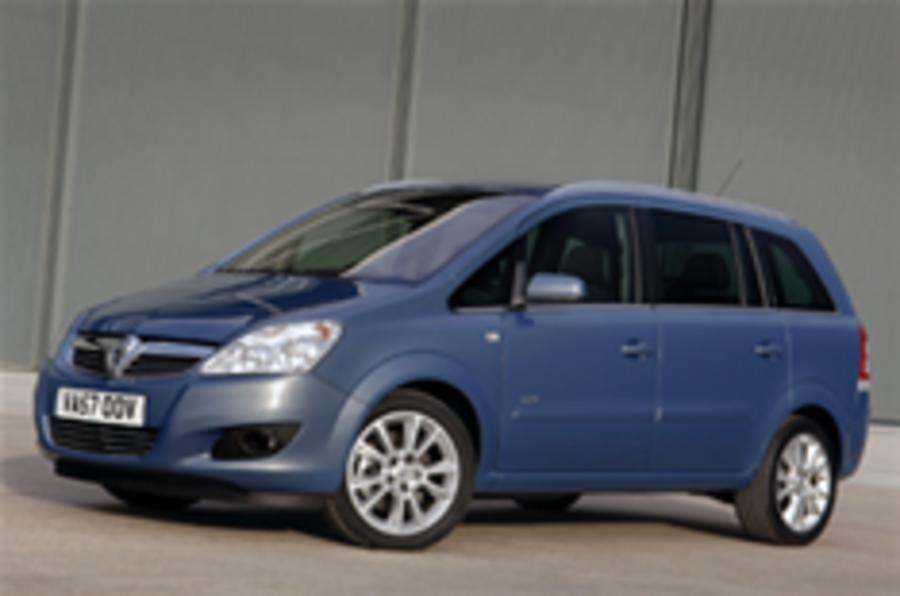 Vauxhall Zafira gets a facelift