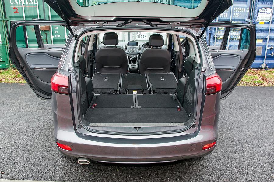 Vauxhall Zafira Tourer boot space