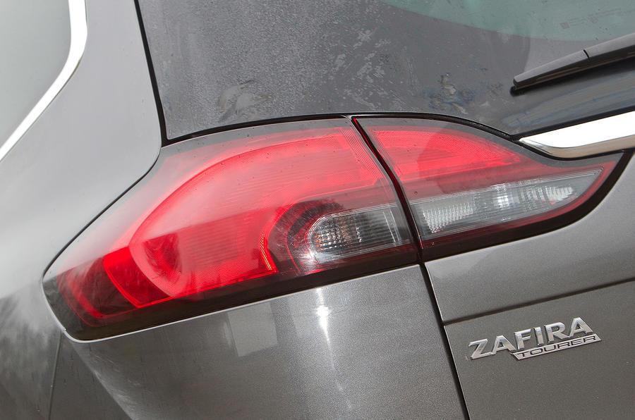 Vauxhall Zafira Tourer tailight