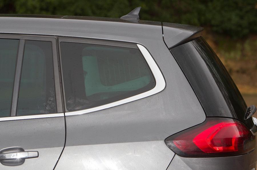 Vauxhall Zafira Tourer rear end