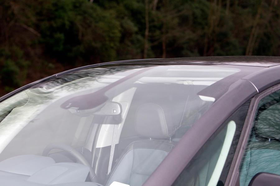Vauxhall Zafira Tourer panoramic sunroof