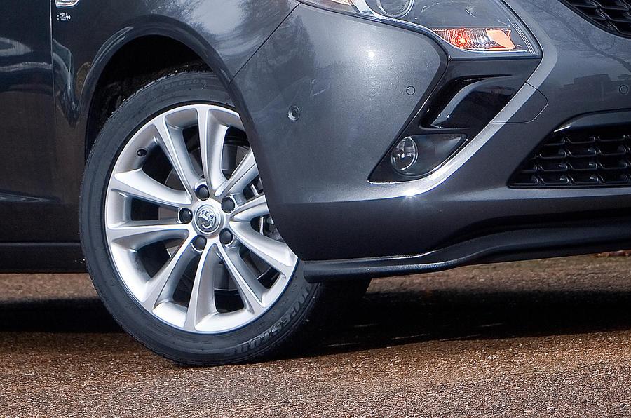 17in Vauxhall Zafira Tourer alloys