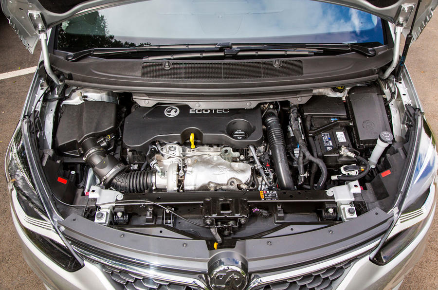 2.0-litre Vauxhall Zafira Tourer diesel engine