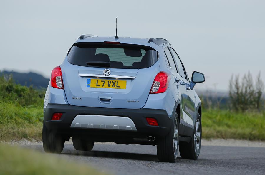 Vauxhall Mokka Tech Line rear cornering