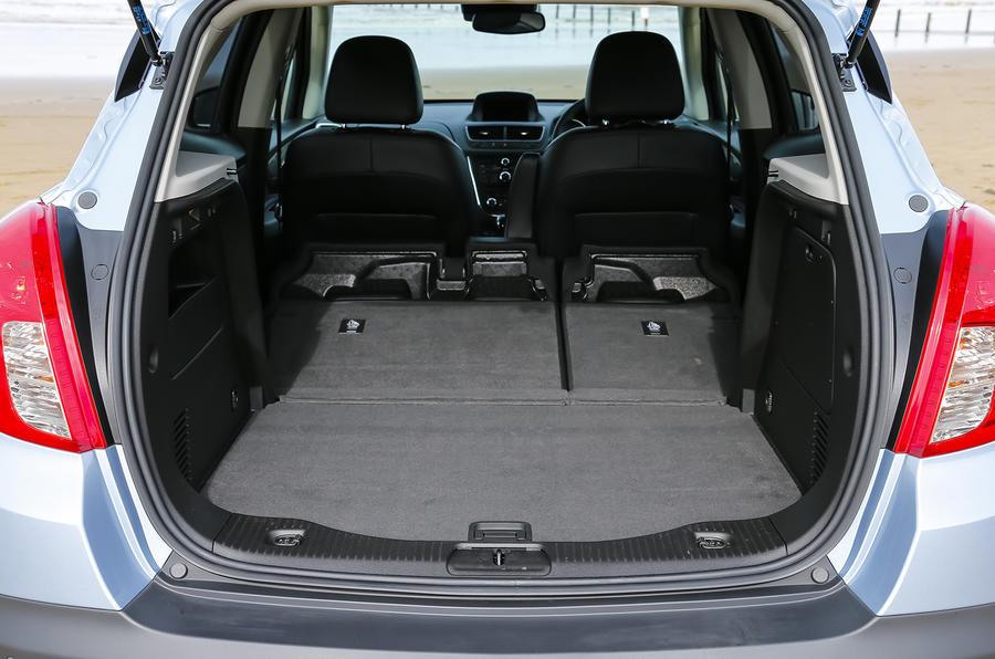 Vauxhall Mokka Tech Line seating flexibility