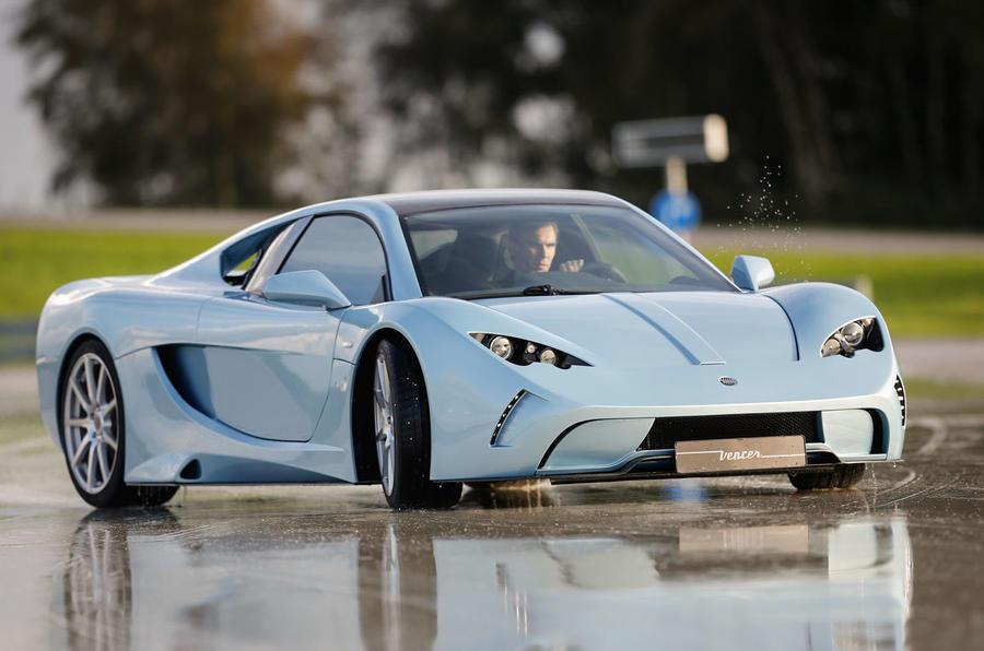 210mph Vencer Sarthe supercar