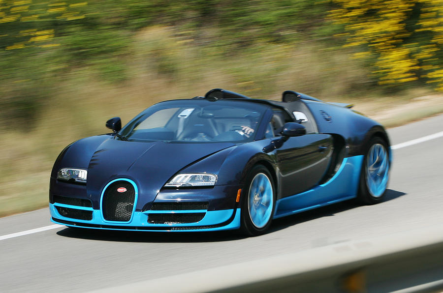 Only 15 Bugatti Veyron models left