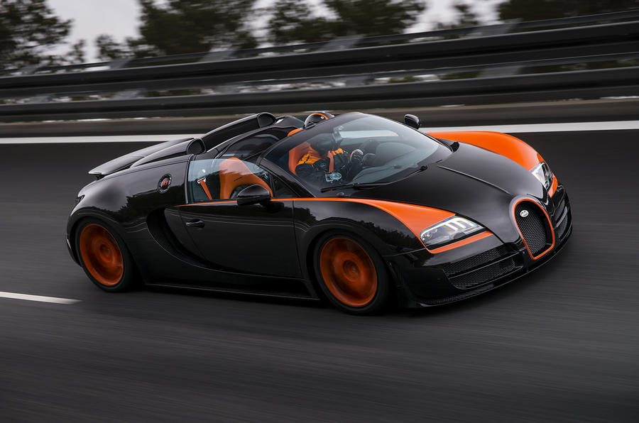 Only 15 Bugatti Veyron models left