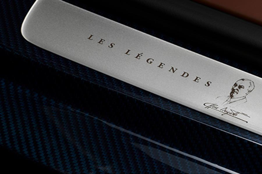 Bugatti reveals final Veyron Legend ahead of Pebble Beach debut