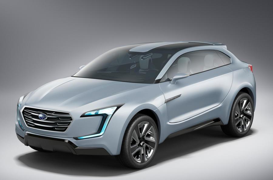 Tokyo motor show 2013: Subaru Viziv Evolution concept