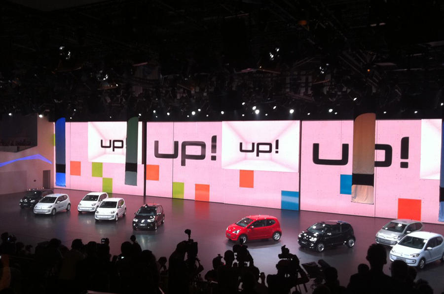 Frankfurt show - VW Up unveiled